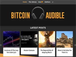 Bitcoin Audible