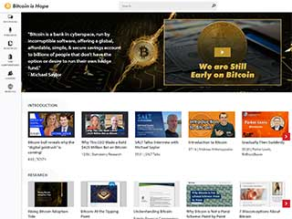 Bitcoin Is Hope