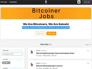 Bitcoiner Jobs