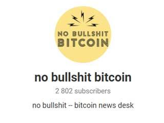 No Bullshit Bitcoin