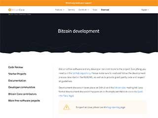 Bitcoin Core development