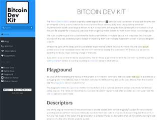 Bitcoin Dev Kit