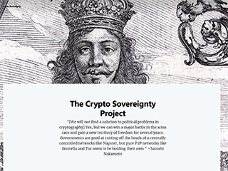 The Crypto Sovereignty Project