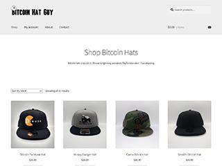 Bitcoin Hat Guy