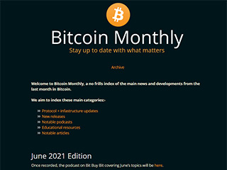 Bitcoin Monthly