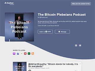 Bitcoin Plebeians Podcasts
