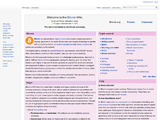 Bitcoin Wiki