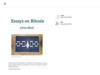 Essays On Bitcoin
