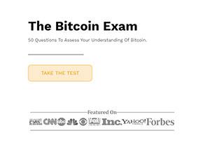 The Bitcoin Exam
