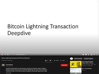 Bitcoin Lightning Transaction Deepdive