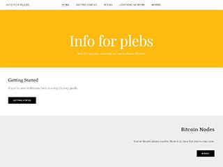 Info For Plebs