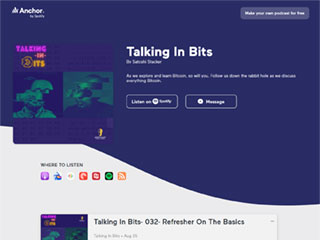Talking In Bits