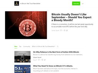 In Bitcoin We Trust
